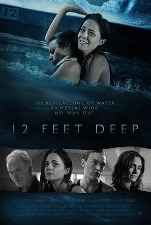 schlock horror 12 feet deep 2017