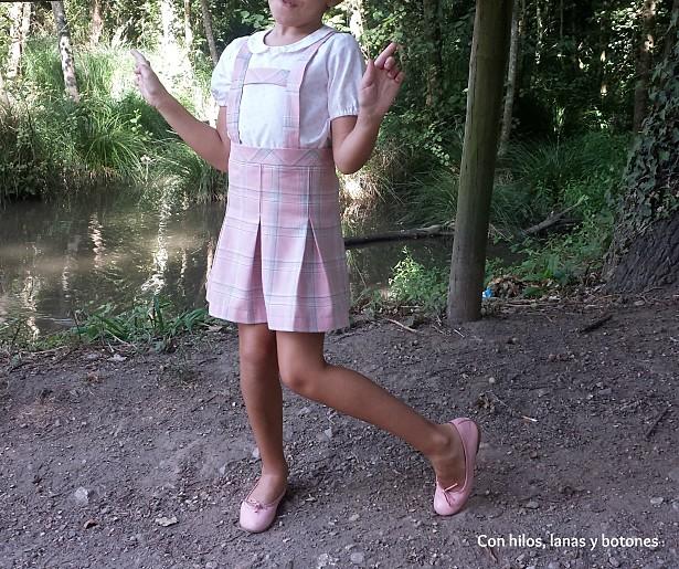 Con hilos, lanas y botones: Falda Rose (by Mamacosesola)