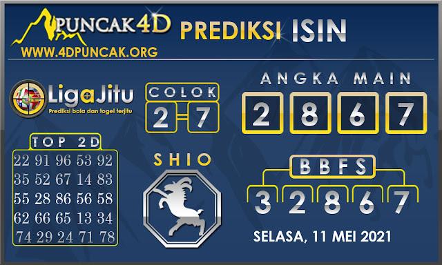 PREDIKSI TOGEL ISIN PUNCAK4D 11 MEI 2021