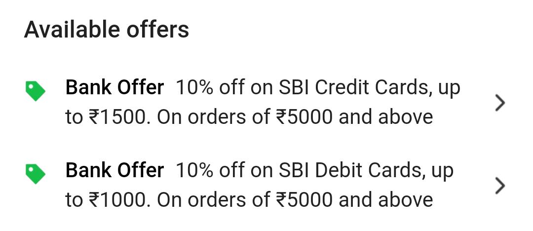 Flipkart bank offer
