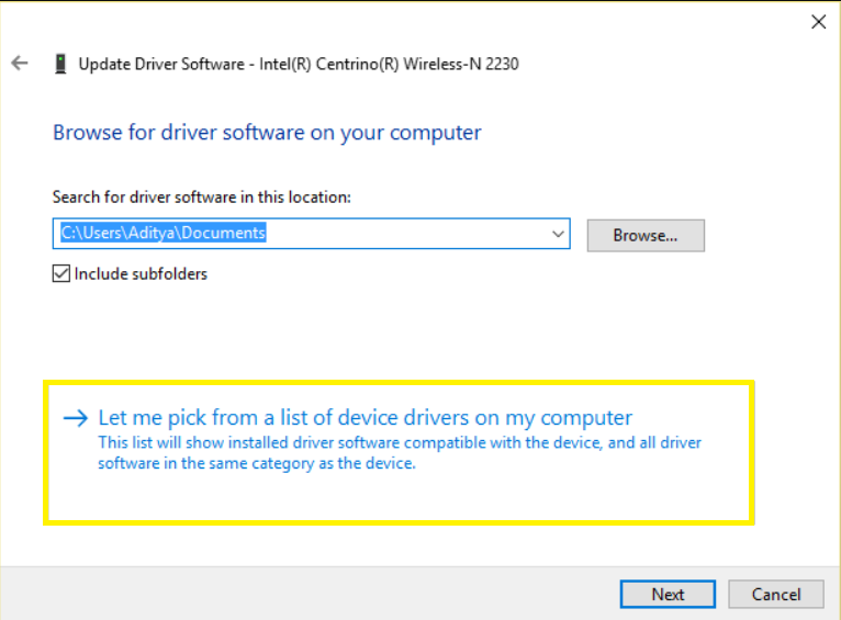 Find Network Drivers Location on Computer