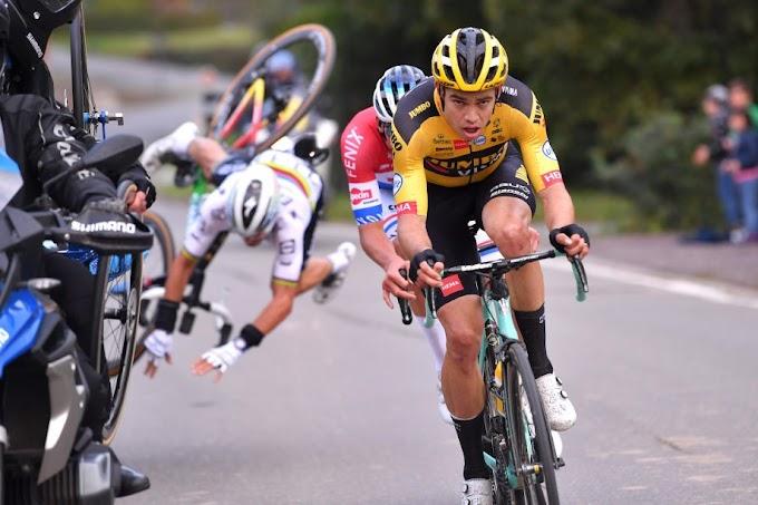Kettős kéztörés a kerékpáros világbajnok Alaphilippe-nél