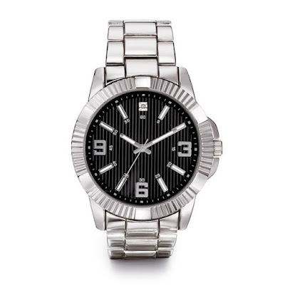 Men's Diamond Accent Watch