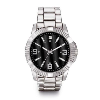 Men's Diamond Accent Watch