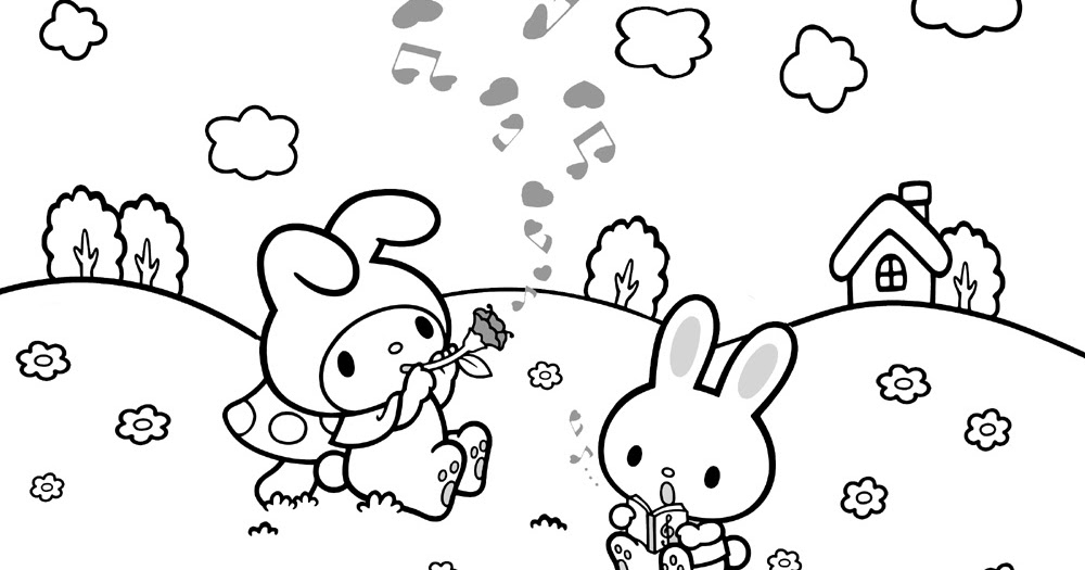 hello kitty coloring pages that you can print # 15