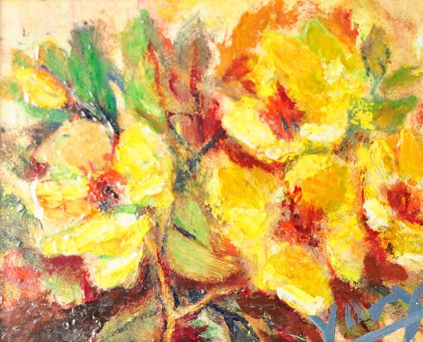 Flores amarilla