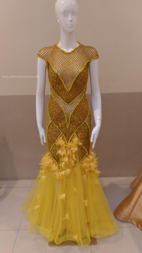 Tnalak Haute Couture gown