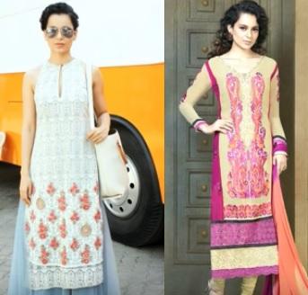 celebrity, kurta, style, desi, Kangana Ranaut