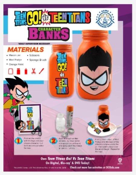 Teen Titans Go! Vs. Teen Titans Character Banks -