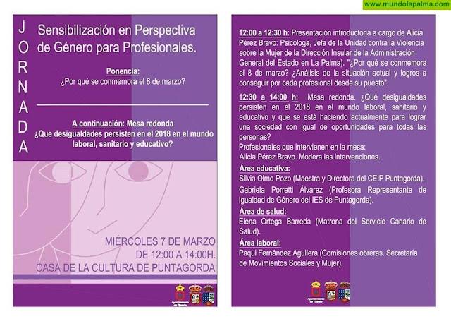 Jornada de Sensibilización en Perspectiva de Género para Profesionales