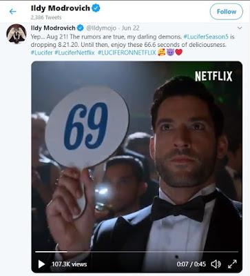 Lucifer Season 5 releasing date