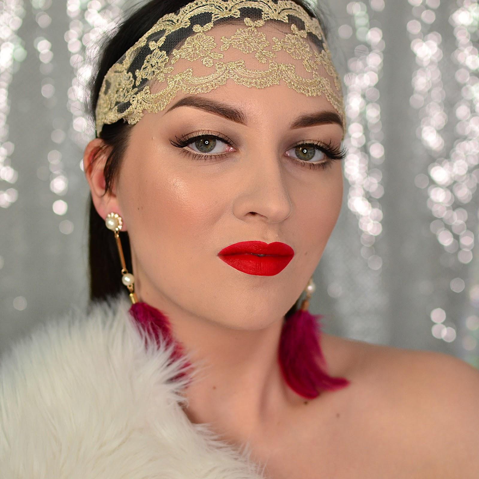 historia makijażu lata 20