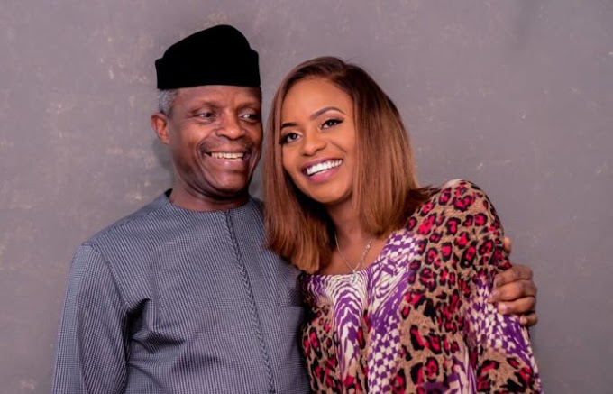 """I pray that God have mercy on them"" - Kiki Osinbajo prays for 'heartless' people wishing her father died in the helicopter crash"