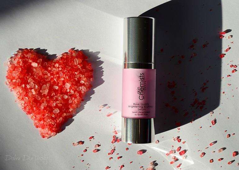 SkinChemists Rose Quartz Brightening & Lifting Serum