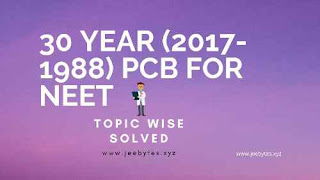Disha 30 Years(2017-1988) (PCB) For NEET Hindi Medium