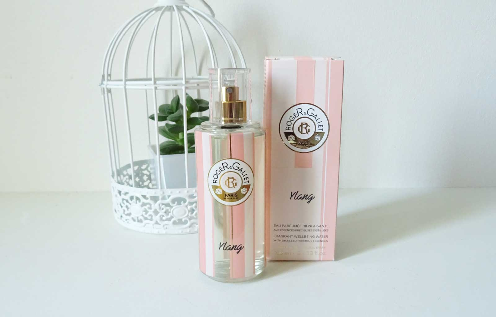 L'eau parfumée bienfaisante Ylang Roger&Gallet