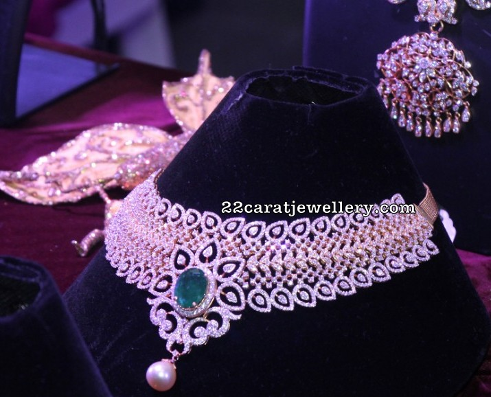 Radiant Kundan Diamond Chokers