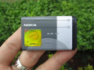 baterai Nokia original BL-6C