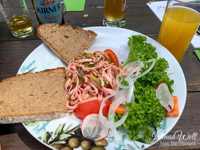 Wurstsalat im Waldheim