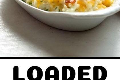 Loaded Cauliflower (Low carb | Keto)