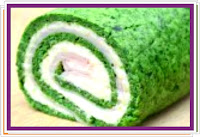 Špenátová roláda se sýrovou náplní - Recepty a vaření