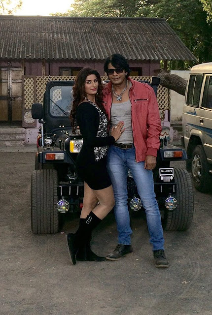 Bhojpuri Cinema Hot & Sexy Actress Poonam Dubey and Action King Biraj Bhatt