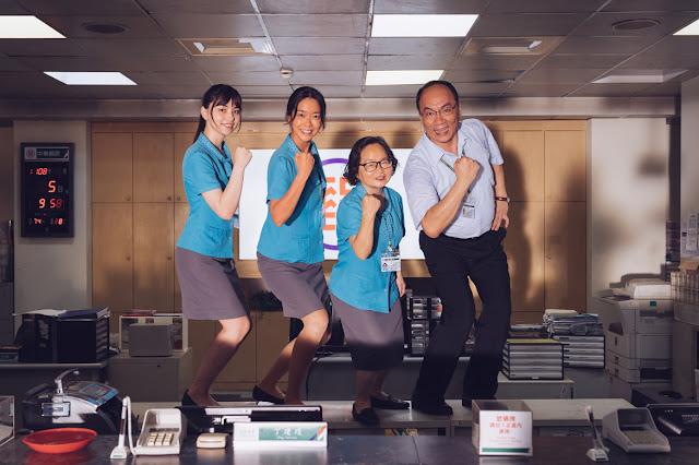 「圍棋女神」黑嘉嘉(左一)近期跨足電影圈,客串電影《消失的情人節》(照片提供:華文創)