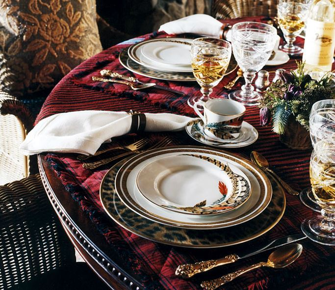 Ralph Lauren Home Christmas: Color Outside The Lines: Ralph Lauren Home Collections
