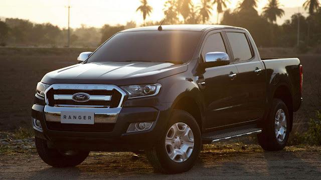 SUV's da Ford terão versão híbrida