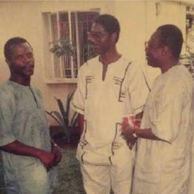 Nobody Knows Tomorrow, See Throwback Photos Of VP Yemi Osinbajo and Tunde Fowler