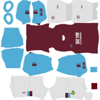 Burnley FC 2019/2020 Kit, Dream League Soccer 2020
