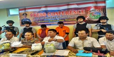 Dua Pelaku Pengedar Sabu Asal Pekanbaru ditangkap