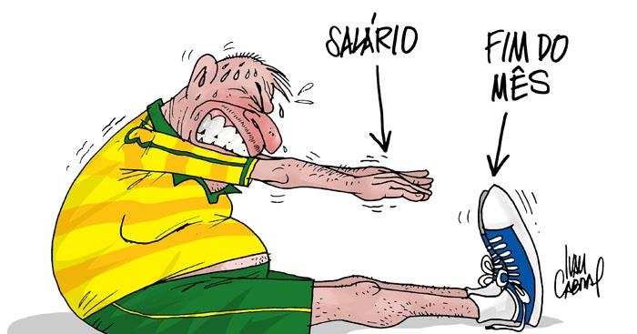 Sorriso Pensante-Ivan Cabral - charges e cartuns: Charge: Salário ...