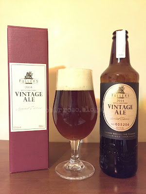 Fuller's Vintage Ale 2014 birra recensione degustazione blog birra artigianale