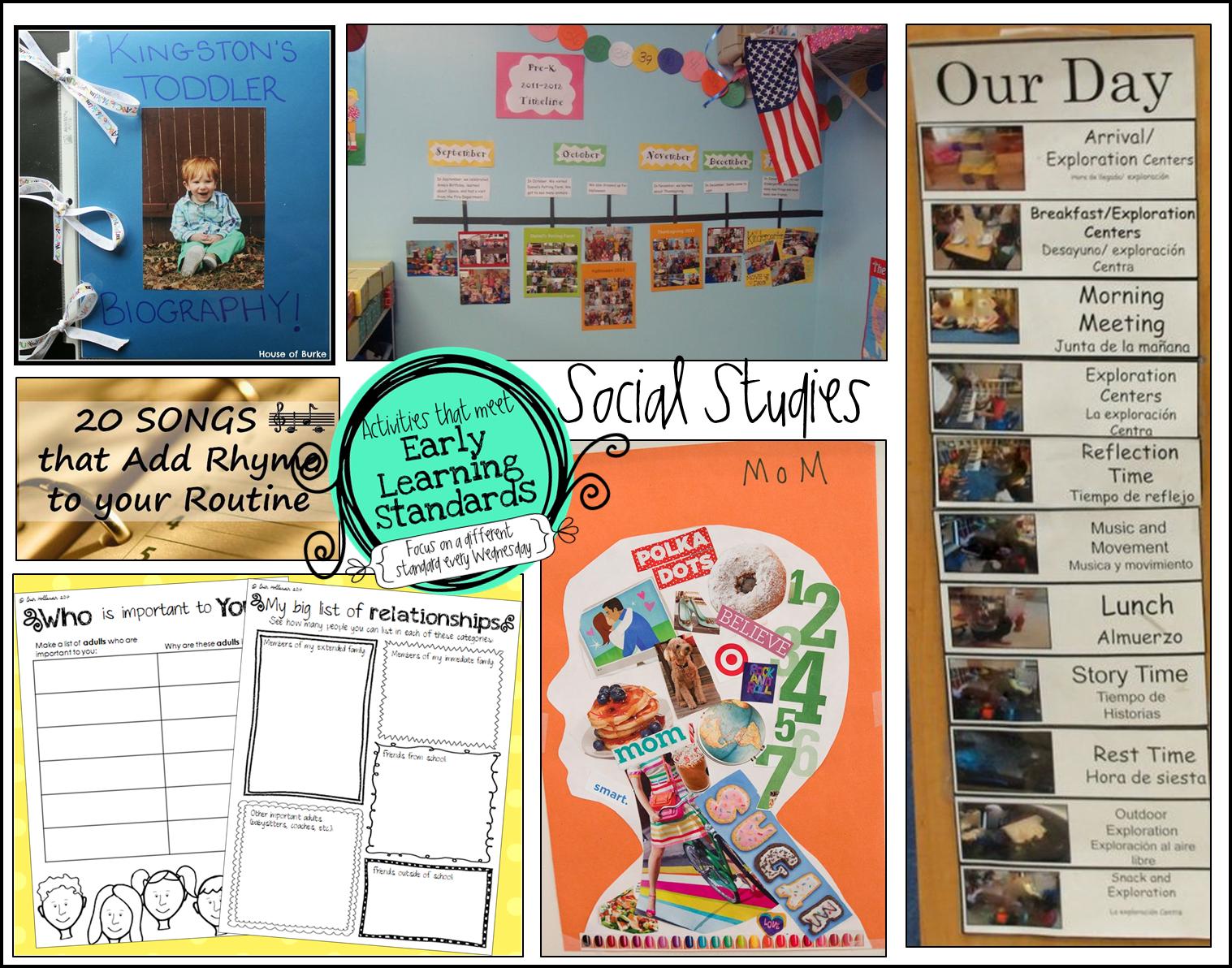 Preschool Ponderings Preschool Social Stu S Activities