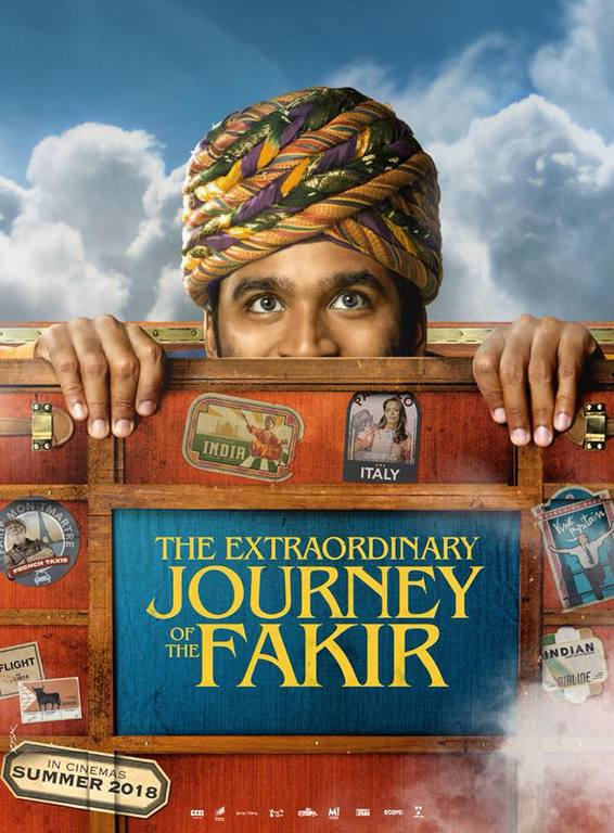 Extraordinary Journey Of The Fakir Official Poster