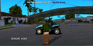 GTA San Andreas Lite Download For Android (Only 100MB)