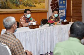 Pjs. Gubernur Jambi Perkuat Komunikasi dengan Pihak Sekolah