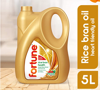 Fortune Rice Bran Health Oil For Healthy Hearth and Lowering Cholesterol