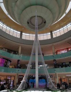 Dubái, Emiratos Árabes Unidos. Centro Comercial Dubai Mall. Dubai Creek Tower.