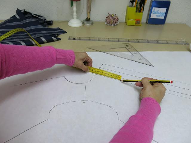 como dibujar un cuello redondo