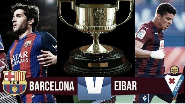Barcelna, Eibar, Final de jornada Liga Santander