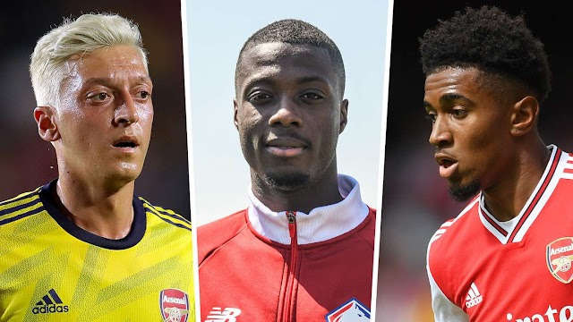 How Pepe's £72m Arsenal arrival could affect Ozil, Nelson & Mkhitaryan