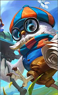 Diggie Pigeoneer Heroes Support of Skins V3