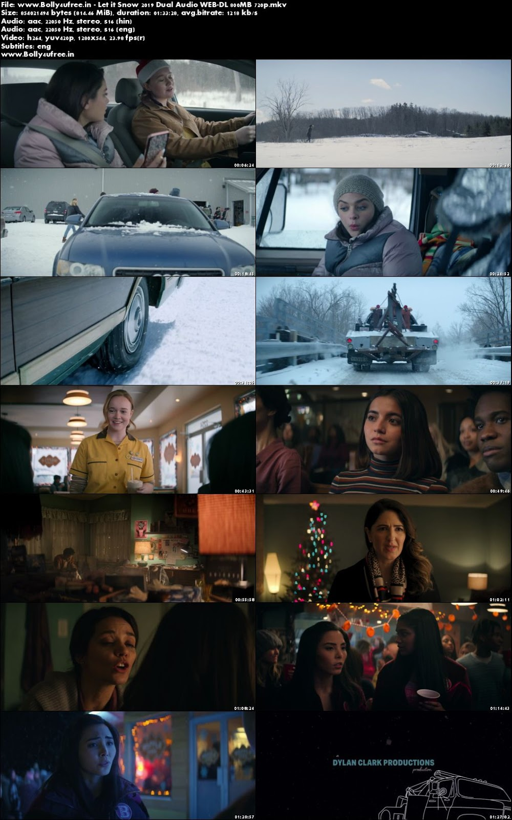 Let it Snow 2019 Hindi Dual Audio WEB-DL 800MB 720p