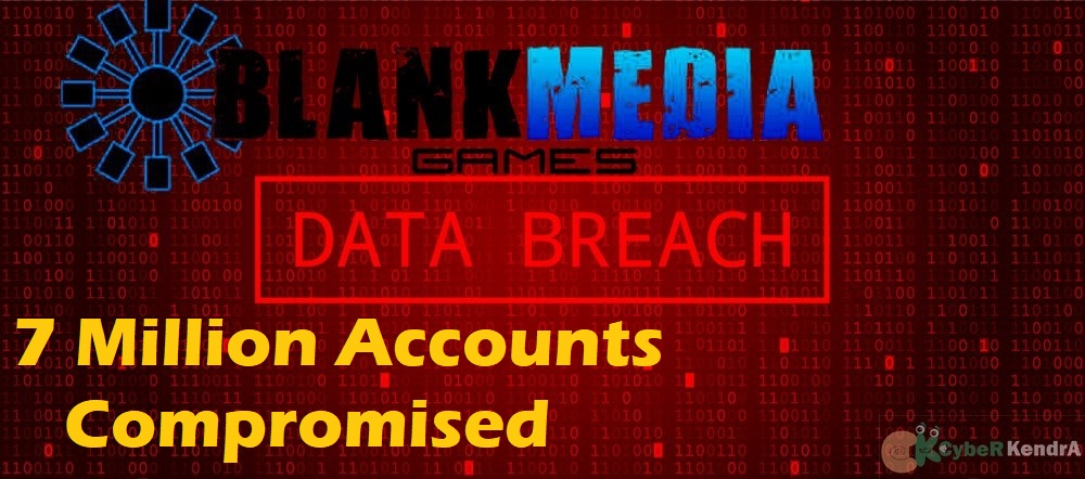 BlankMediaGames Got Hacked - Over 7 Million Accounts