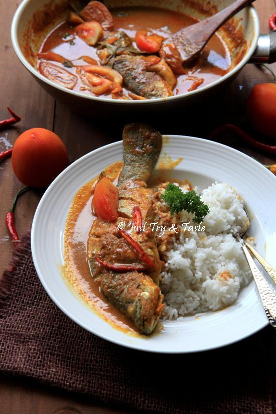 Resep Kari Pedas Ikan Kakap
