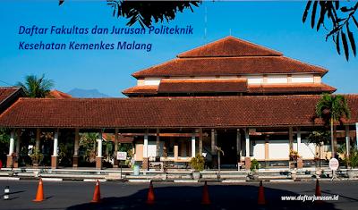 Daftar Fakultas dan Jurusan Politeknik Kesehatan Kemenkes Malang Terbaru