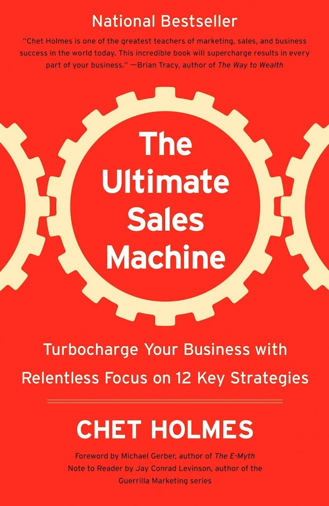 Ultimate Sales Machine by Chet Holmes Ebook Download