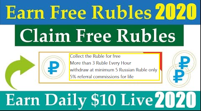 Earn Free Ruble